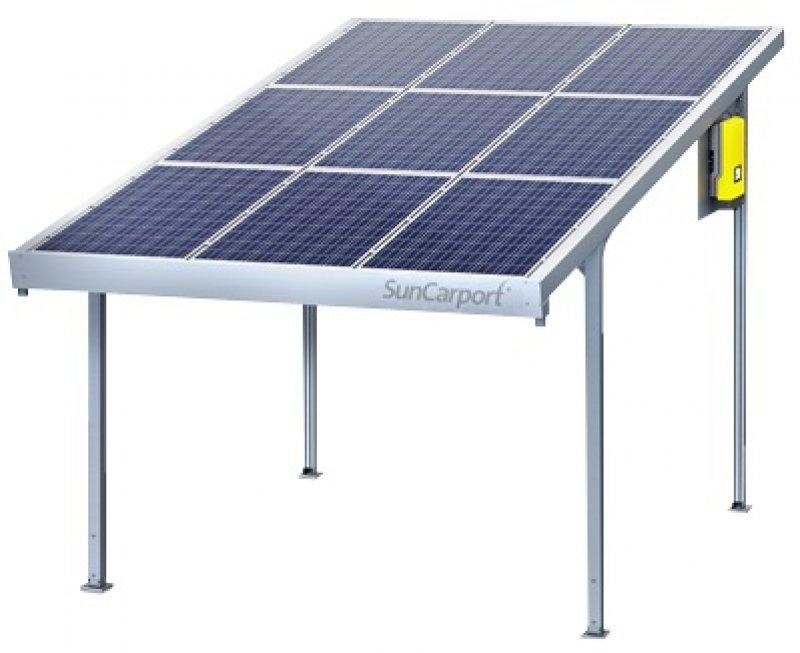 SunCarport 2,25 KWp